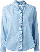 Etoile Isabel Marant ruffle lined shirt - women - Cotton/Spandex/Elastane - 38
