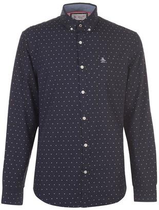 Original Penguin Original Long Sleeve Star Print Shirt