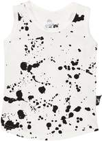 Nununu White Splash Tank Top