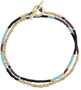 M. Cohen Beaded Wrap Bracelet