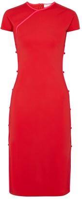 MARCIA TchikiBoum Side-split Stretch-jersey Midi Dress