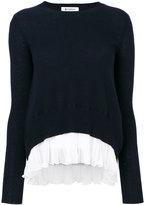 Dondup pleated hem jumper - women - Cashmere/Merino - S