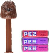Star Wars Yu Gi Oh Pez Candy Dispenser Chewbacca Blister Card