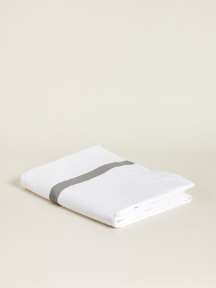 Boll & Branch Banded Organic Cotton Duvet Cover