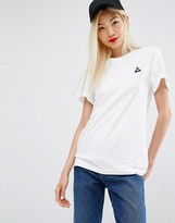 Le Coq Sportif T-shirt With Ribbed Detail