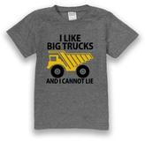 Urban Smalls Pewter 'I Like Big Trucks' Tee - Toddler & Boys