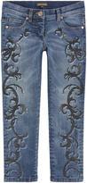 Roberto Cavalli Girls skinny fit jeans