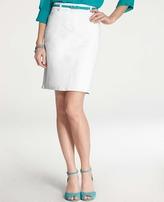 Ann Taylor Petite Denim Skirt