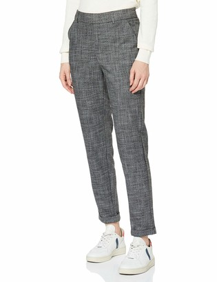 Vero Moda Women's Vmmaya Mr Loose Salt Pepper Pant Noos Trouser