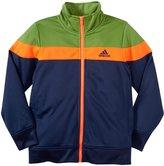 adidas Elite Tricot Jacket (Toddler/Kid) - Navy-4