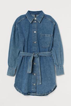 H&M Cotton Shirt Dress