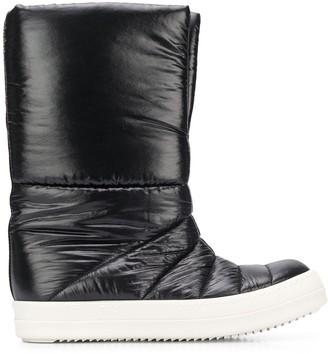 Rick Owens Padded Flat Boots