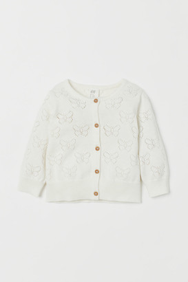 H&M Pointelle-knit cardigan