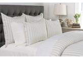 Villa Home Collection Monaco Pinstripe Linen Duvet Cover