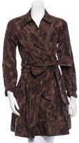 Diane von Furstenberg Camouflage Print Jacket