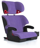 Clek Oobr Booster Car Seat - Prince Purple w/ Black Base