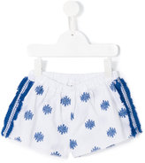 Douuod Kids - embroidered shorts - kids - Cotton - 6 yrs