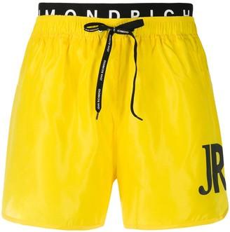John Richmond Logo Band Swim Shorts