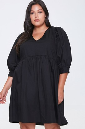 Forever 21 Plus Size Cutout Mini Dress