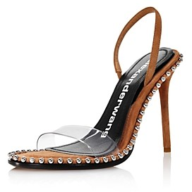 Alexander Wang Women's Nova Slingback High-Heel Sandals