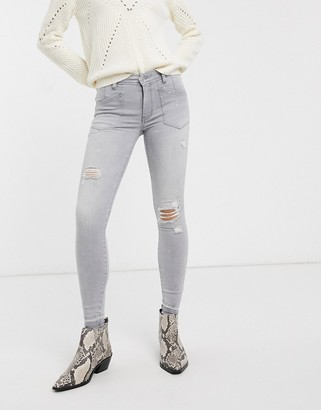 We The Free By Free People by Free People Ivy mid rise skinny jeans