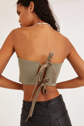 Angie Bauer Keir Strapless Top
