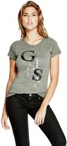 GUESS Factory Irisa Staggered Logo Tee