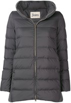 Herno cable knit padded coat