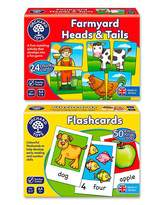 Fashion World Pack of 2 First Matching Games
