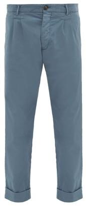 J.w.brine J.W. Brine J.w. Brine - New Marshall Cotton Chino Trousers - Mens - Blue