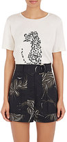 Nina Ricci Women's Leopard-Graphic Cotton T-Shirt