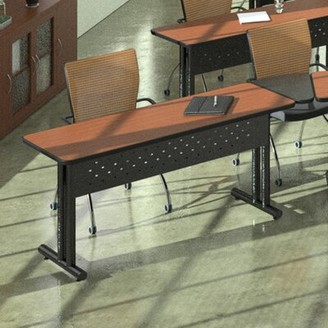 """Meeting Plus Rectangular Conference Table Mayline Group Finish: Sand Beige/Witchcraft/Mocha/Taupe, Size: 28.63"""" H x 72"""" L x 24"""" W"""