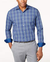 Tasso Elba Men's Plaid Shirt, Only at Macy's