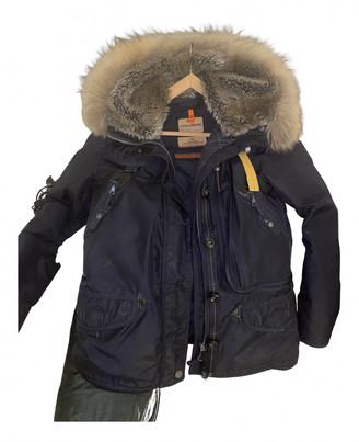 Parajumpers Blue Fur Coats