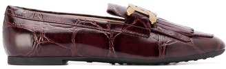 Tod's Chain-Link Applique Loafers