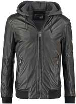 Oakwood Jimmy Leather Jacket Noir