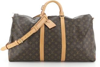 Louis Vuitton Keepall Bandouliere Bag Monogram Canvas 55