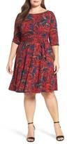 Leota Plus Size Women's Llana Stretch Jersey Dress