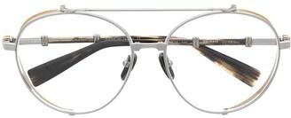 Balmain Eyewear Brigade II aviator glasses
