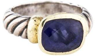 David Yurman Iolite Noblesse Ring