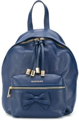 MonnaLisa Bow-Detail Backpack