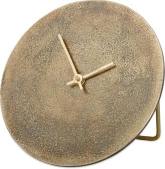 Nkuku Okota Standing Clock - Antique Brass - antique brass - Antique brass