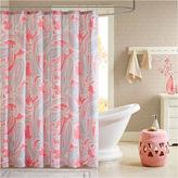 INTELLIGENT DESIGN Intelligent Design Daniela Microfiber Shower Curtain