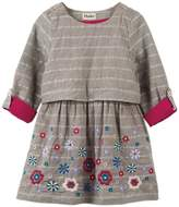 Hatley Shimmering Daisies Layer Cotton Dress