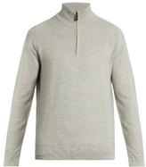 Polo Ralph Lauren Zip-through wool-blend sweater