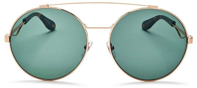 Bar Double Women's Round Oversized Polarized Sunglasses60mm Brow hQrdxsCt