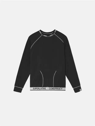 Wesc Parker Solid Long Sleeve Lounge T-Shirt