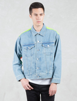 Phenomenon Patched Back Panel Denim Jacket