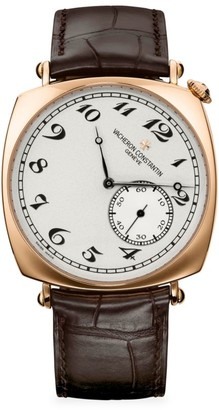 Vacheron Constantin Historiques American 1921 18K 5N Rose Gold & Alligator Strap Manual-Winding Watch