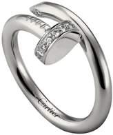 Cartier White Gold and Diamond Juste un Clou Ring